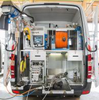 Allestimenti per furgoni di videoispezioni