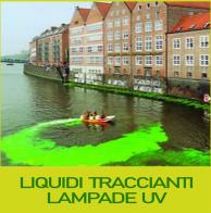 Liquidi traccianti e lampade UV
