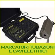 Marcatori tubazioni e cavi elettrici